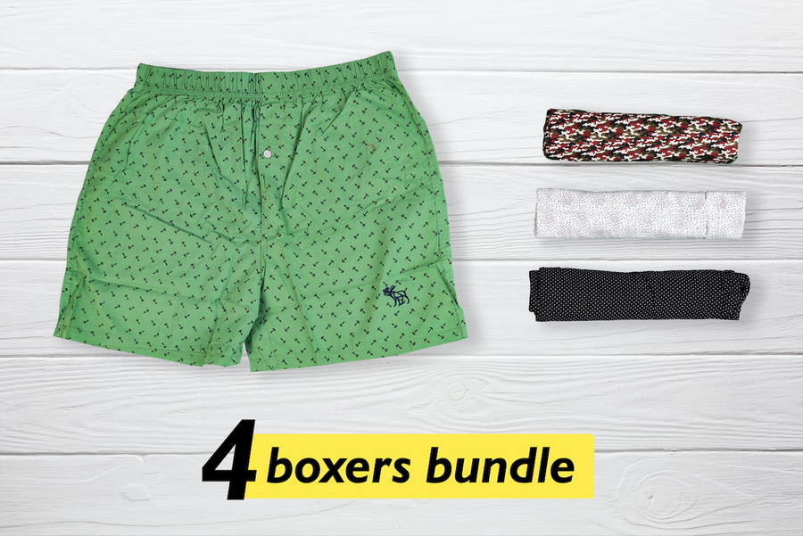 Modisch Set of 4 Boxers - Medium