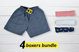 Perfect Set of 4 Boxers - Large