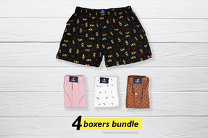 Elegantní Set of 4 Boxers - XL