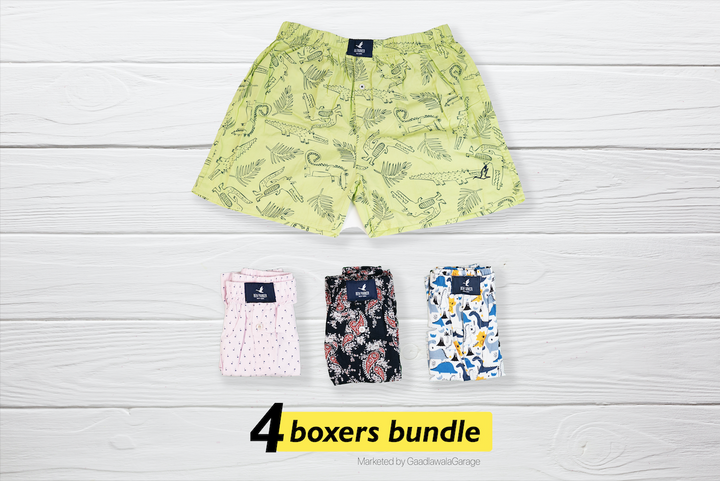 Pimpant Set of 4 Boxers - XL