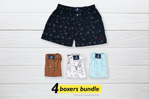 Azzimato Set of 4 Boxers - XL