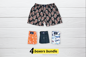 Dotjeran Set of 4 Boxers - XL