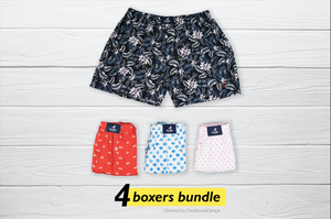 Vyaysaik Set of 4 Boxers - XL