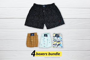 Sik Set of 4 Boxers - XL