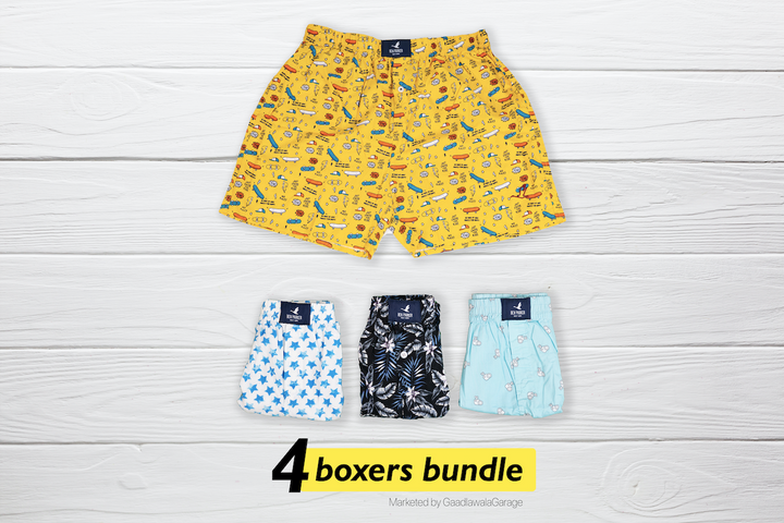 Classe Set of 4 Boxers - XL