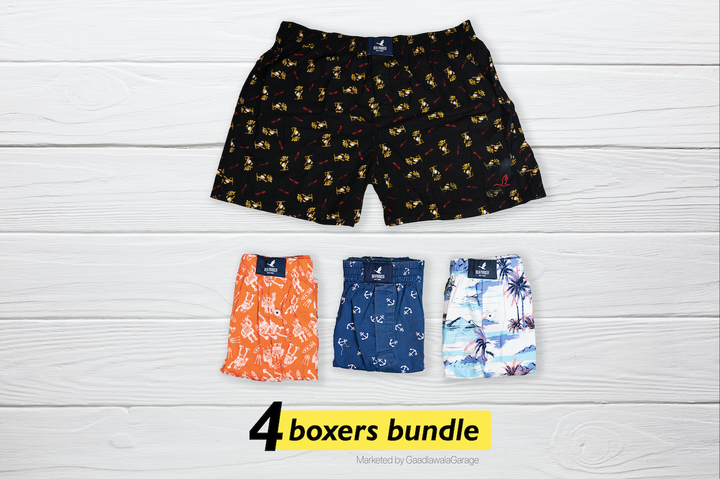 Impaurito Set of 4 Boxers - XXL
