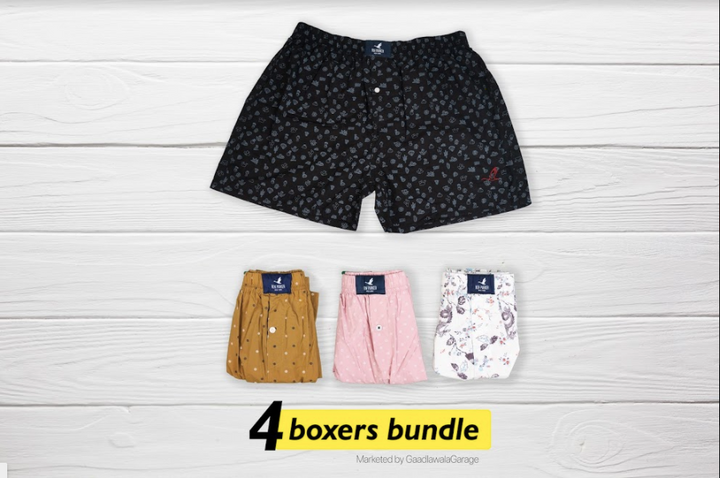 Bailīgss Set of 4 Boxers - XXL