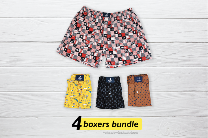 Stinkande Set of 4 Boxers - XXL