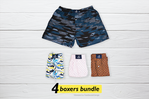 Noyob Set of 4 Boxers - XXL