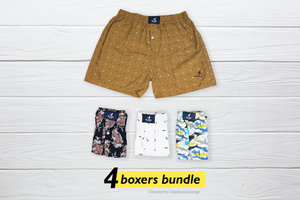 Pan Set of 4 Boxers - Medium
