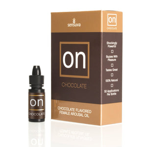 Sensuva On Chocolate Flavoured Female Arousal Oil 5ml