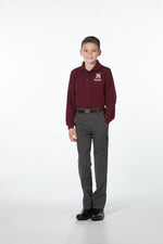 Boys Charcoal Heather Pants - Regular