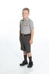 Boys Charcoal Heather Shorts - Regular