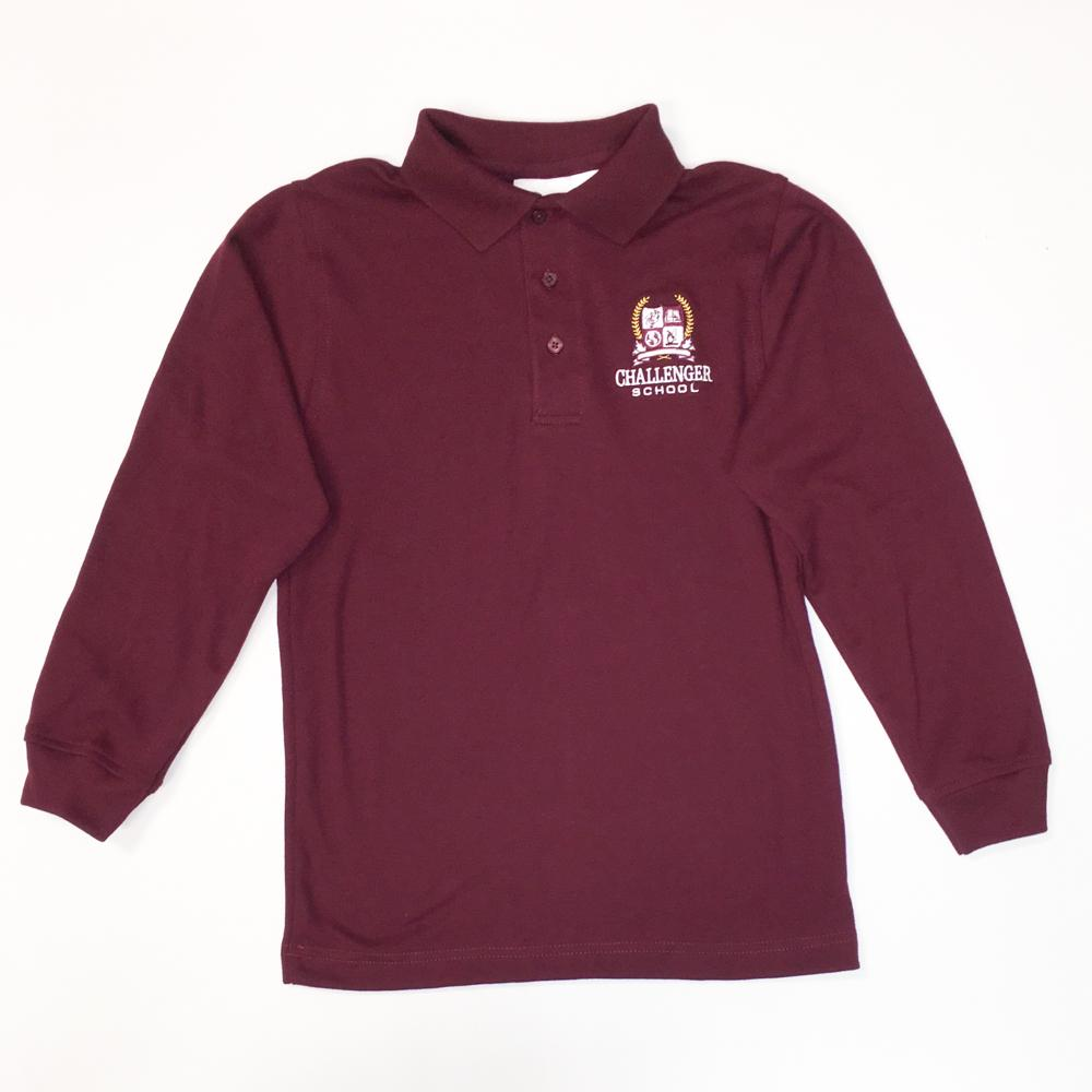 Boys Polo - Long Sleeve - IN STOCK
