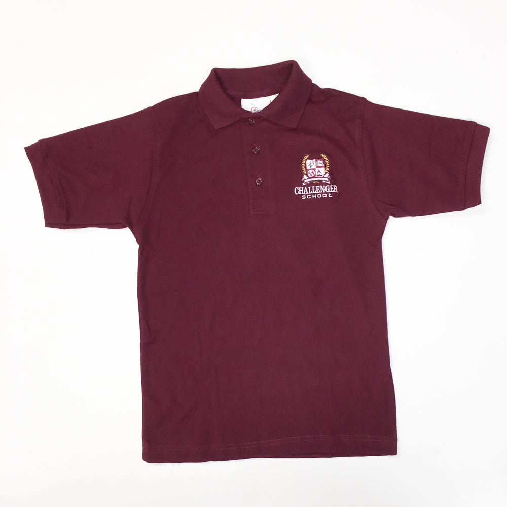 Boys Polo - Short Sleeve (Interlock Knit)