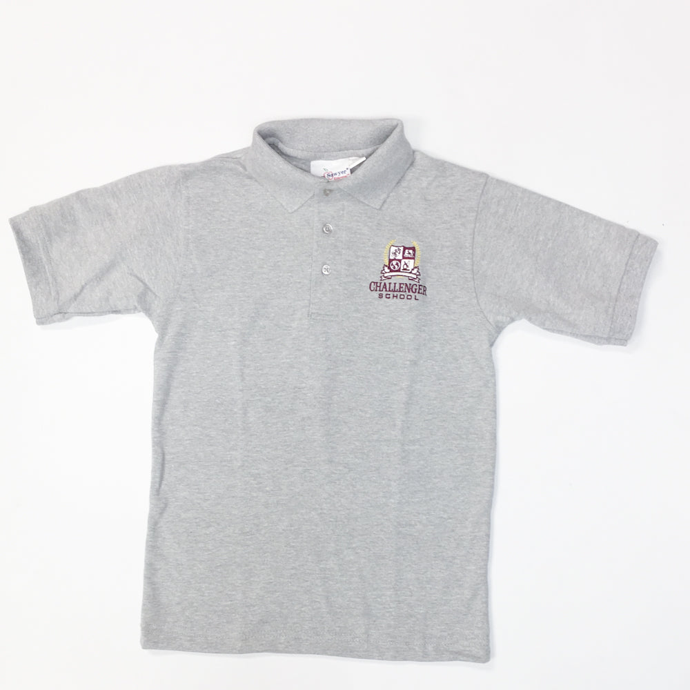 Boys Polo - Short Sleeve (Interlock Knit )