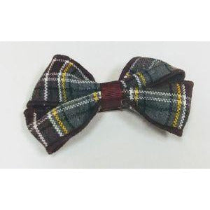 "Plaid Loop Bow - 3"" - Clippy"