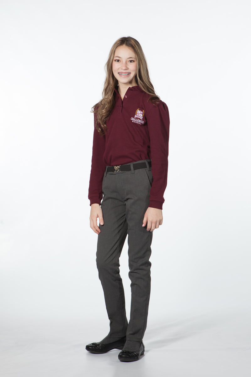 Girls Polo - Long Sleeve