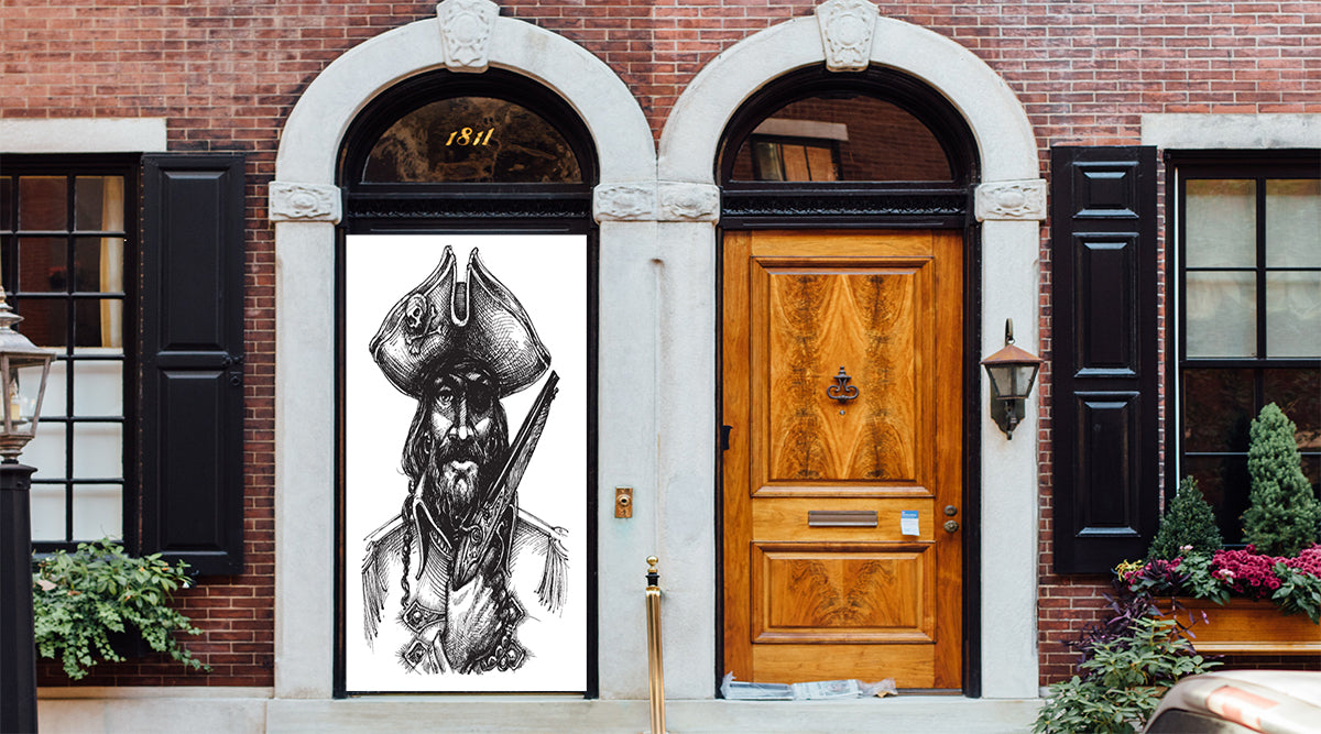 Gasparilla fabric door cover