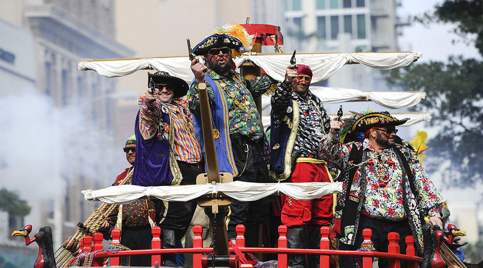 Pirates at the annual Tampa Pirate Festival