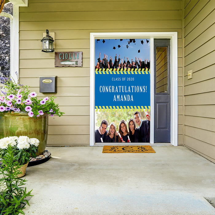 Quarantine Grad Door Banner