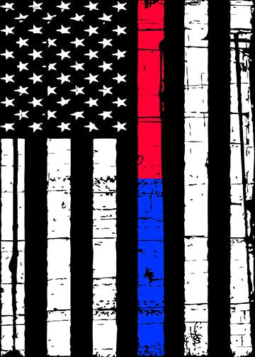 Thin Blue and Red Line