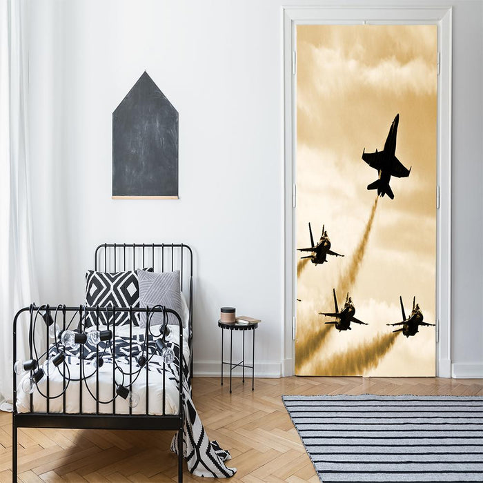 Fighter Jets Airplane Decor