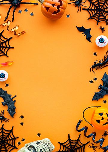 Customizable - Halloween Backdrop