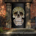 Lifelike Skull Door Cover