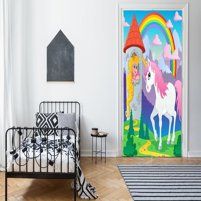 Unicorn Door Sign