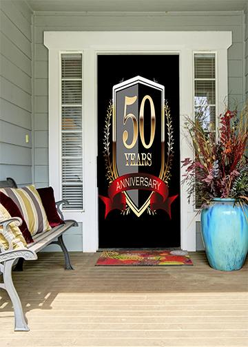 50th year anniversary door cover