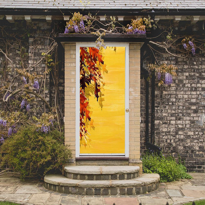 Autumn Portrait Door Cover