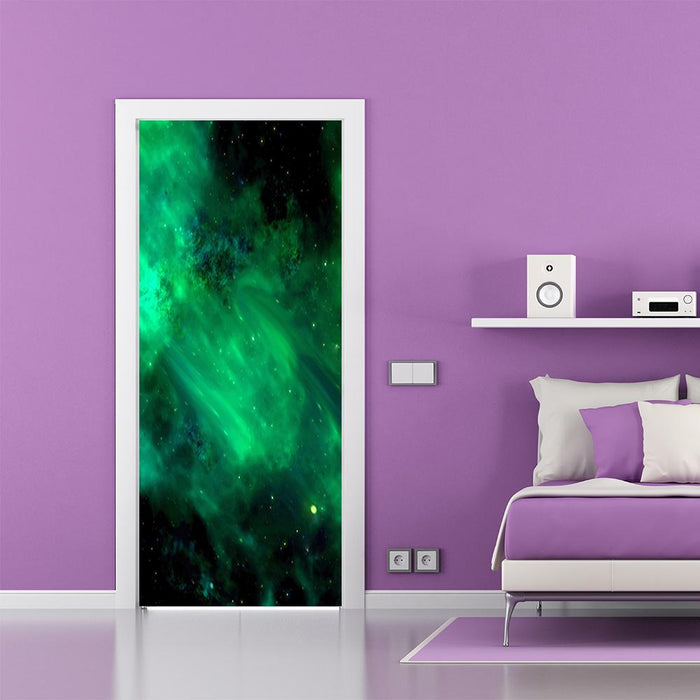 Deep Space Door Decoration