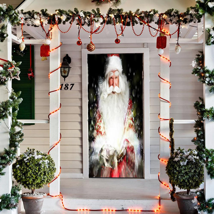 Santa's Magic Door Cover