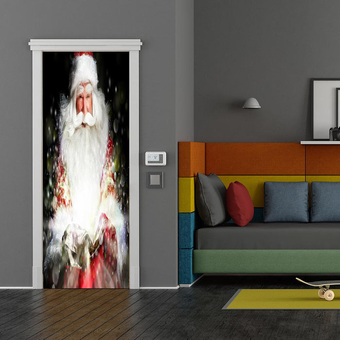 Santa's Magic Door Decor
