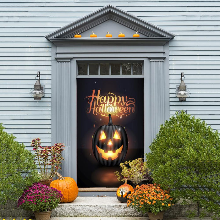 Halloween Fabric Door Decor