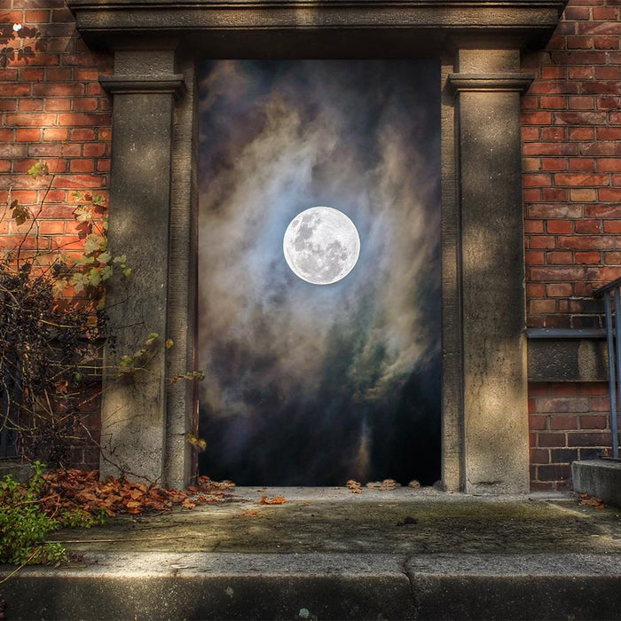 Full Moon Door Decoration