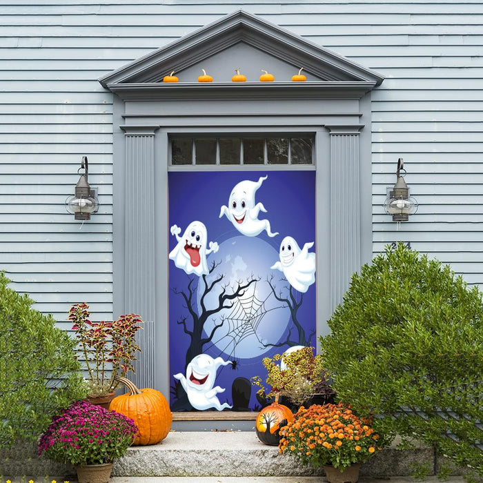 Halloween Ghosts Door Hangers