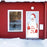 Santa Door Decoration Front Porch Decor