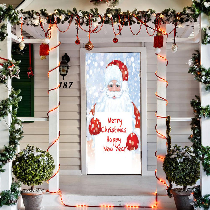 Santa Door Decoration Merry Christmas