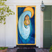 Mary Holding Baby Jesus Door Decor
