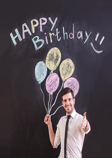 Happy Young Man Birthday Decor