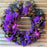 Purple Spider Wreath