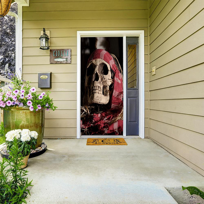 Pirate Door Sign Door Cover