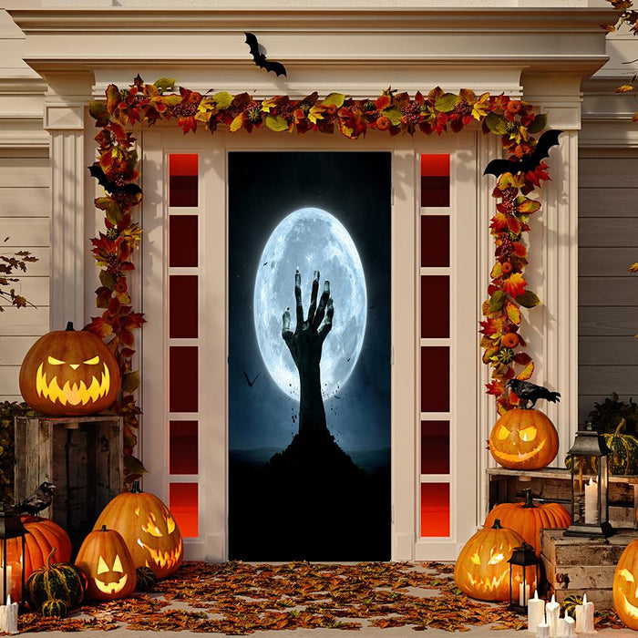 Creepy Grave Hand Door Decoration