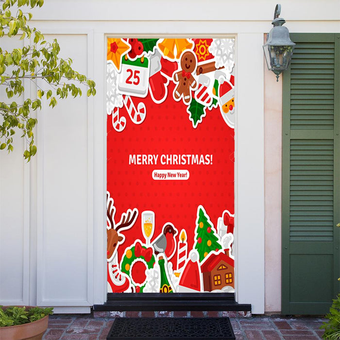 Merry Christmas Door Banner