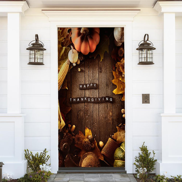 Thanksgiving Fabric Door Hangers