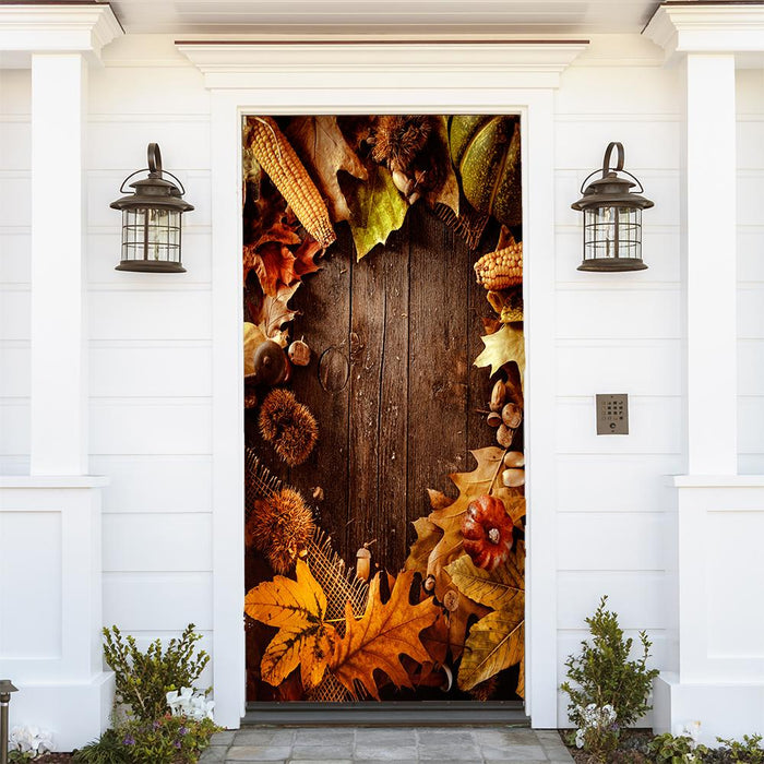 Thanksgiving Fabric Door Decoration