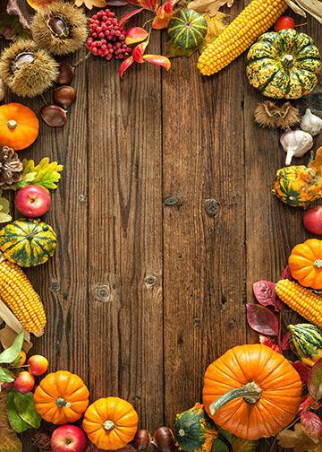 Harvest Thanksgiving, Door Cover - Door Decoration