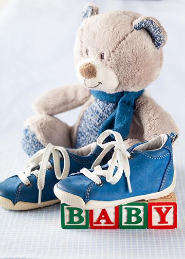 Teddy Bear with Shoes, DoorWrap - Door Decoration